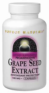 Source Naturals Grape Seed Extract Proanthodyn 100 Mg 30 Capsule 30 Capsule