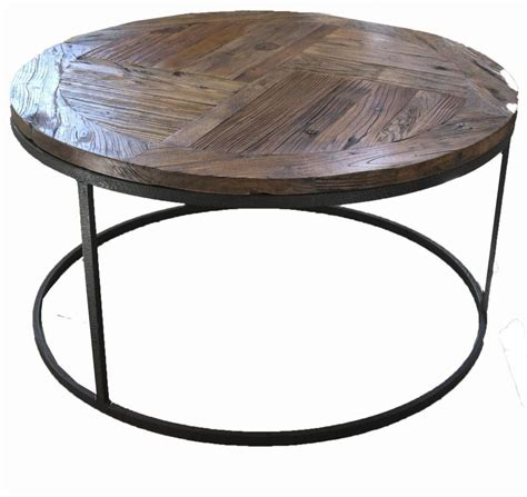 round industrial coffee table industrial round coffee table coffee table design ideas