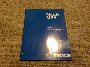 2003 Mazda Mpv Minivan Factory Original Electrical Wiring