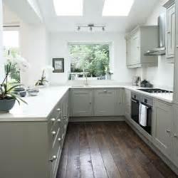 shaker kitchen ideas white shaker style kitchen with grey units decorating housetohome co uk