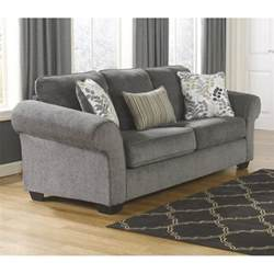 makonnen chenille size sleeper sofa in charcoal 7800039