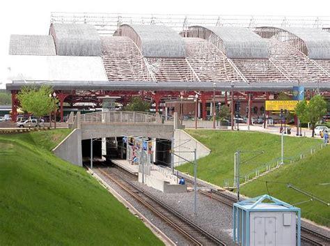 st louis light rail train shed union station