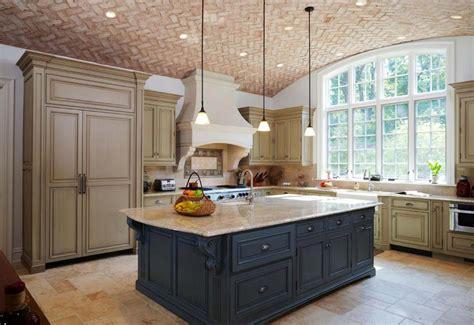 cuisine bicolore couleurs agréable pour une cuisine déco moderne et
