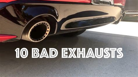 sport cars   worst exhaust sound youtube