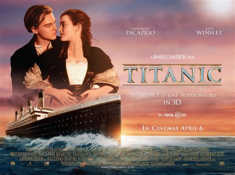Titanic Boat Poster by Titanic Disaster Drama Romance Ship Boat Poster F
