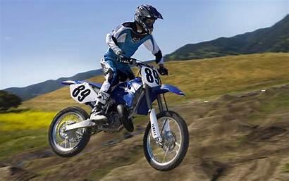 Yamaha Yz 125 Wallpapers Backgrounds Motocross 8k