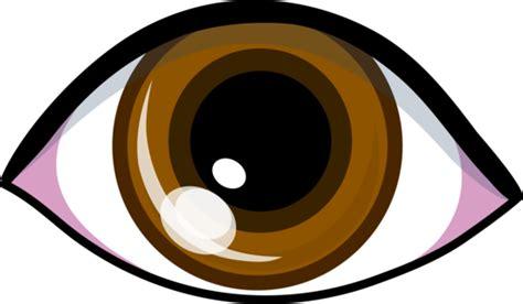 brown eye logo design  clip art