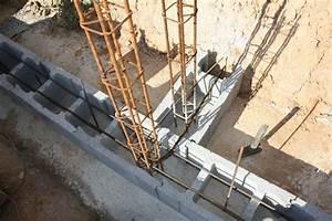 Ferraillage Fondation Mur De Cloture : construction d 39 un mur de sout nement partie 2 le blog ~ Dailycaller-alerts.com Idées de Décoration
