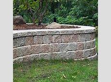 Retaining Garden Wall Ideas Uk; Garden Design Ideas