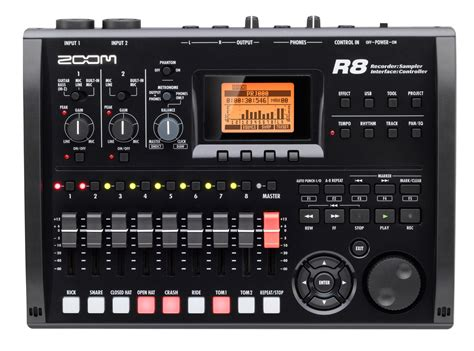 recorder interface controller sampler zoom