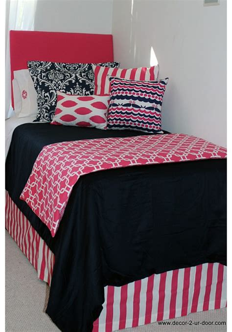 navy and pink bedding nautical navy preppy pink designer bed in a