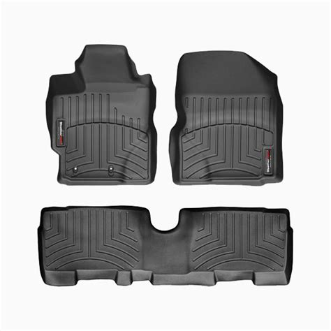 weathertech floor mats yaris weathertech digitalfit floorliner floor mats for 15 14 13 toyota yaris