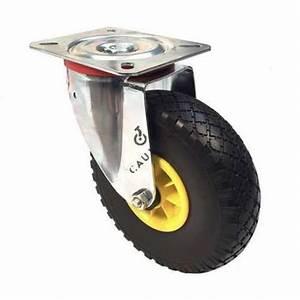 Roue Pivotante : roulette pivotante avec roue increvable diam tre 260 mm ~ Gottalentnigeria.com Avis de Voitures