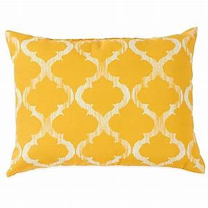 Enhance Outdoor Throw Pillows in Yellow Bed Bath & Beyond