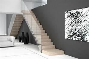 Treppe Mit Glasgeländer : freitragende treppe coole ideen ~ Sanjose-hotels-ca.com Haus und Dekorationen