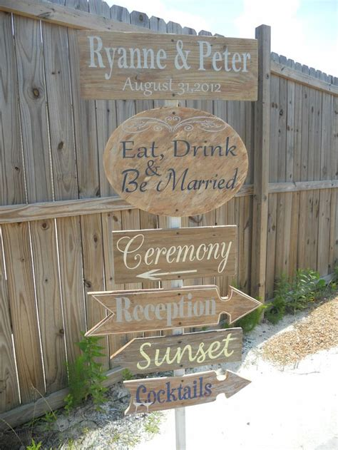 17 Best Ideas About Wedding Direction Signs On Pinterest