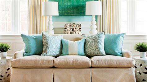 how many throw pillows on a sofa how to arrange sofa pillows southern living
