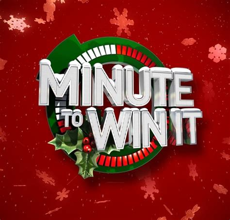 christmas minute to win it half assed productions