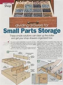 Drawers Small Parts Storage System  U2022 Woodarchivist