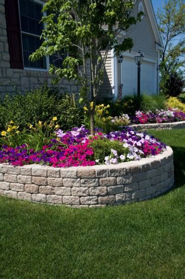 unilock stack romanstack wall and planter by unilock photos