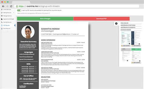 Resume From Linkedin by Linkedin En Step Min Resume Definition Resume From