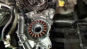 Kawasaki Kfx 700 - Stator Cover Removal