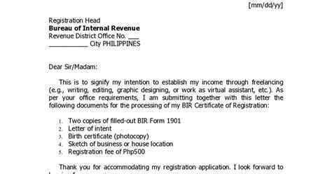 sle letter of intent fresh sle letter of intent cover letter exles 6966