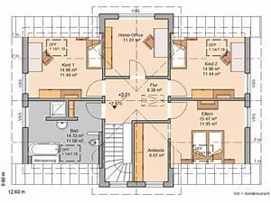 Haus Raumaufteilung Beispiele : kern haus familienhaus aura grundriss dachgeschoss ~ Lizthompson.info Haus und Dekorationen