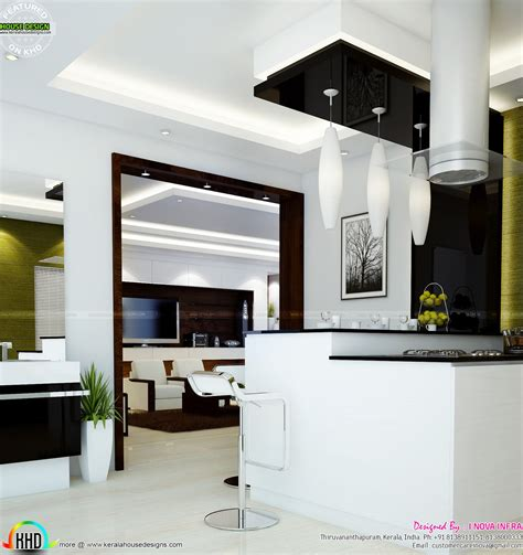 home interior designs   nova infra kerala home design