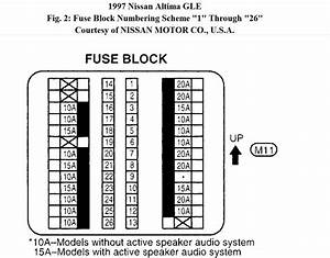 46c7 Nissan Altima Fuse Diagram