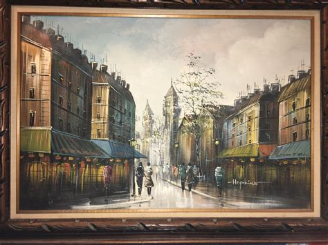 We Have An Oil Painting Signed By Hopkins # 60336 From ...