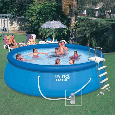 piscine intex images arts  voyages