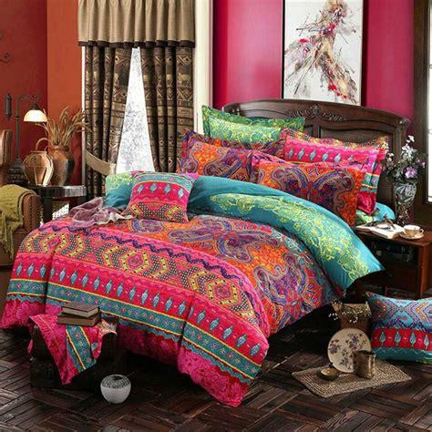 bohemian duvet covers prajna ethnic style bohemian bedding mandala duvet cover