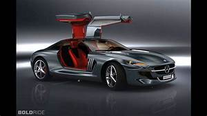 Mercedes Benz 300 SL Gullwing Concept By Slimane Toubal