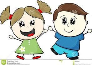Two Cartoon Friends