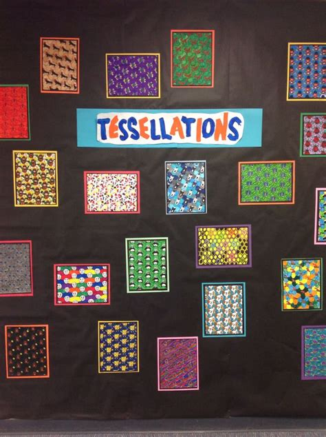 beautiful tessellations lesson  grade  classroom