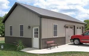 pole barn cplors cheap pole barn kits michigan out With cheap shop building kits