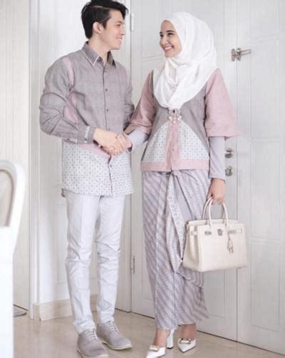 Model baju couple gamis remaja kekinian. Kompak Banget, Ini Inspirasi Baju Kondangan Hijab Couple ...