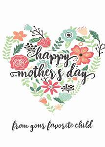Mother Day Happy Mothers Day Messages Free Printable Mothers Day