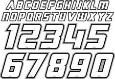 alphabet stickers black  white college sports font     buy  letters  numbers