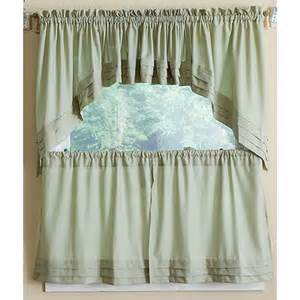 Boscovs Kitchen Curtains by Holden Pleated Tier Curtain Collection Boscov S