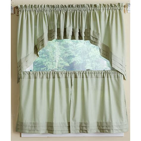 boscovs kitchen curtains holden pleated tier curtain collection boscov s