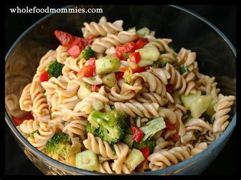 great pasta salad recipe party pasta salad great for potlucks whole food recipes how do it info