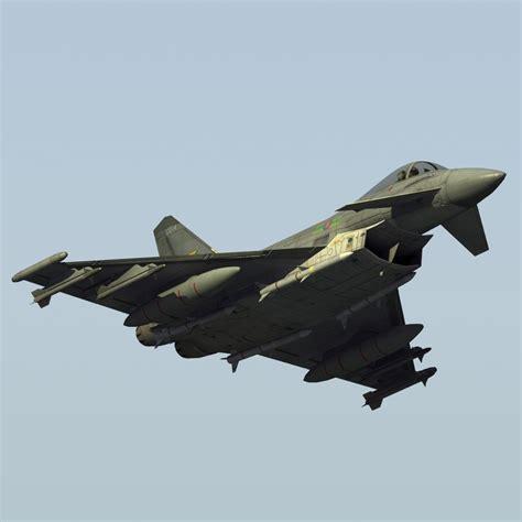 Typhoon Fgr4 Fighter Raf 3d 3ds