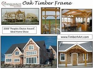 Oak Timber Frame, 2008 Peoples Choice Award, Nova Scotia
