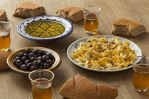 Traditional Moroccan Breakfast Stock Image - Image of eggs ...