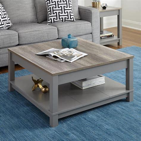 sonoma oak coffee table altra furniture carver gray sonoma oak coffee table