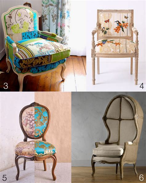 colorful upholstered antique chairs patty yuan
