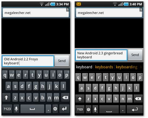keyboard android install original android 2 3 gingerbread keyboard on