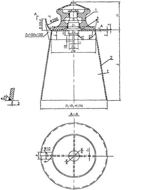 Type A Single Roller Fairleads Mooring Components With Cleat